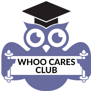 Whoo Cares Club Logo